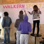2009 Walkern Fair setting up 2