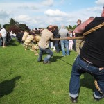 2009 Walkern Fair tug of war 1
