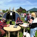Raffle tent